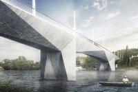 Most za miliardu spojí Smíchov a Dvorce: Podklady vyjdou Prahu na 133 milionů, stát má za čtyři roky