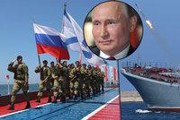 Putin si z Krymu udělal vojenskou základnu. A má tam i atomovky, tvrdí vojenský expert