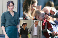 Zklamání prince Harryho: Těhotenství vévodkyně Meghan se nekoná? Bříško nikde!