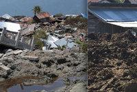 Bahno mu pohřbilo sousedy zaživa. Počet obětí tsunami v Indonésii hrozivě roste