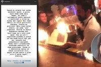 Popálená Týnuš Třešničková poprvé promluvila o hořícím pekle: Strach o zrak