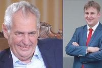"""""""Nemám rád loutky,"""" tepe Zeman Petříčka kvůli Izraeli. Výměně ministra by nebránil"""