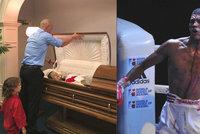 Těhotnou zabil opilý boxer, otec ji i s dcerou vystavil v rakvi: Mrkněte, co se mi stalo, chlubil se nehodou viník, který si chtěl splnit sen