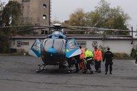 Dělníka v Kladně při opravě rozvodny zasáhl proud: Je popálený na 70 % těla