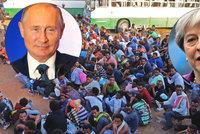 Putin chce ovládnout migrační tepnu, varují Britové. Přesouvá vojáky do Libye