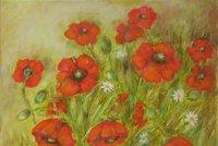 Optimistické květiny a půvaby ženské krásy: V Galerii 14 vystavuje Jarmila Čerevková