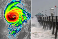 Hurikán Michael dorazil na Floridu. Běsnit bude rychlostí až 250 km/h