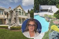 Rosie O'Donnellová prodává dům pod cenou. Shání snad peníze na svatbu?