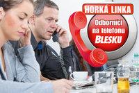 Odborníci z úřadu práce na telefonu Blesku už DNES! Na co se nejvíc ptáte?