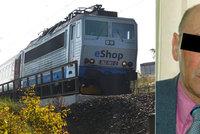 Františka dohnalo svědomí: Před 12 lety umlátil manželku, v pondělí skočil pod vlak