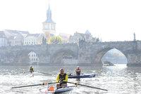 Čeští veslaři dopluli do Hamburku po více než 800 kilometrech, aspirují na rekord