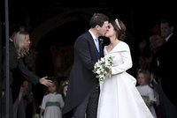 Svatba princezny Eugenie ONLINE: V kostele plném modré krve zaznělo dvakrát ANO