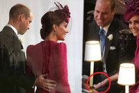 Kate během svatby Eugenie porušila protokol: Rukou pod lavicí hladila manžela!