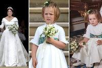 Tajemství družičky ze svatby Eugenie: Proč drží v ruce »houbu«?