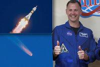 Kosmonauti ze Sojuzu popsali nezdařený let do kosmu: Na paniku nebyl čas