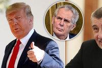Slibovaná schůzka s Trumpem zřejmě bude, místo Zemana ale vyrazí Babiš. Proč?