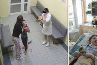Adámkovi (10), kterého nechala doktorka krvácejícího na chodbě, poslali už přes 1,4 milionu korun