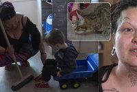 Výměna manželek: Potetovaná Marie v šoku! Alergický chlapeček žije mezi chlupy