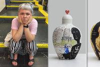 Vagíny a hákové kříže do každé domácnosti?! Umělkyně Zuzana (25) maluje na vázy šokující motivy, chce bořit stereotypy