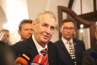 """Zeman vytáhl vtip o brutální vraždě novináře. Telička: """"Bezohledná ubohost"""""""