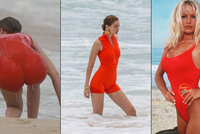 Pobřežní hlídka ožila? Gigi Hadid dráždila v rudých plavkách!