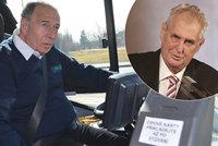 Vyskočil (72) si jde k Zemanovi pro metál: Kvůli komunistům jezdil s náklaďákem