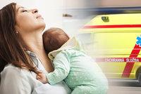 Domácí porod u Prahy dopadl tragicky. Zasahující záchranář prosí maminky: Nedělejte to!