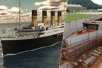 Legendární Titanic se vrací! Replika slavného parníku popluje po osudné trase