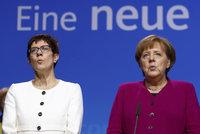 Konec Merkelové v čele CDU: Povede ji znovu žena? Ambice má její spojenkyně