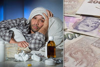 Peníze za první tři dny nemoci nebudou pro každého. Kdo na ně nedosáhne?
