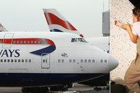 Lidé běsnili, na zemi spaly i děti. Let British Airways nabral 48 hodin zpoždění