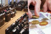 Poslanci seniorům možná přidají až 180 korun. Ale mohou to být jen desetikoruny