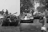 VIDEO: Tanky, kam až oko dohlédne. Podívejte se na neznámé záběry ze srpna 1968