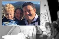 Tatínek Oliver zažíval chvíle hrůzy: Přes telefon sledoval lupiče v pokoji svého syna!