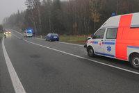 Vybrzdil řidič octavie sanitku? Policisté shánějí svědky!
