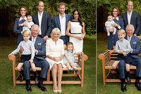 Princ Charles slaví 70: Na slavnostní fotce ho ale o slávu obral někdo jiný!