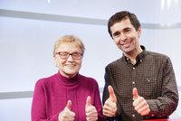 Neuvěřitelné: Lékaři vrátili Haně po 16 letech slepoty zrak. Díky umělé rohovce