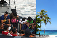 Uprchlíci zahltili tropické ráje. V Karibiku jich je už 100 tisíc
