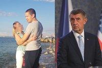 ONLINE: Babišův syn obvinil tátu premiéra ze lži. Policie zavelela do akce