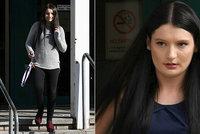 Při studiích práv si vydělává sexem: 23letá matka rozbila synkovi (3 měs.) lebku! Dostala odškodné