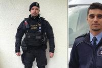 Nemocná žena se v Ústí chtěla zabít skokem do Labe: Z mrazivé vody ji zachránili dva policisté