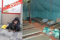 Živě z redakce Blesku: Bezdomovci v zimě trpí nejvíc. Využívají nocleháren?