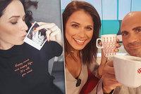 Moderátorka Snídaně s Novou je těhotná! Tajila to 4 měsíce