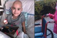 Maruška (8) z Tanvaldu trpí vážnou formou leukémie: Sousedé se jí sbírají na léky