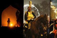 Brno znovu obsadil Napoleon: Tisíce lidí přihlížely víkendovému průvodu!