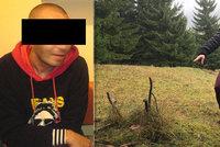 Tady prý leží zmizelý novinář Rýpal. Utajené pohřebiště má ale skrývat i další těla