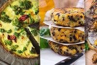 Teplá jídla s vůní podzimu: Brokolicový quiche i hovězí steaky na hříbkách