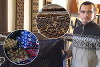 UNESCO zapsalo modrotisk: U Danzingerů se řemeslo předává už šestou generaci