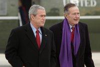 Známe poslední slova George Bushe před smrtí: Tohle řekl synovi
