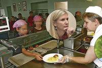 """""""Socialistický švindl."""" Za školní obědy zdarma to Valachová schytala. """"Blábol,"""" brání se"""